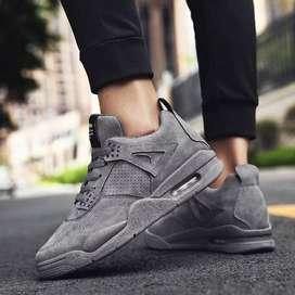 botas zapatos zapatillas en gamuza estilo jordan comodas elegantes