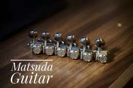 Clavijeros Locking Tuner Tipo Kluson // No Fender