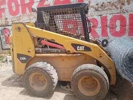 Minicargador CAT 236B + Rotomartillo