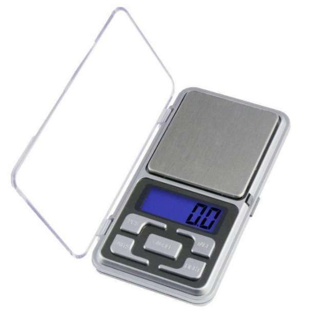 Gramera digital de bolsillo Pocket scale MH500 500g NUEVA 0