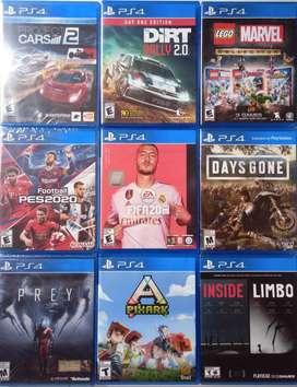 PS4 Venta de Juegos Play Station 4