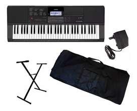 Casio CT-X800 Combo Piano estuche base adaptador