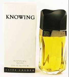 Perfume Estee Lauder Knowing 75ml Mujer Eros
