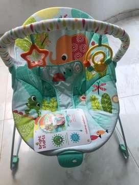Silla mesedora vibradora bebé