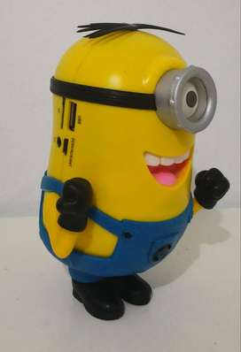 Parlante, Radio, Mp3 Minion Stuart.