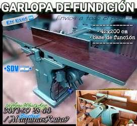 GARLOPA DE FUNDICIÓN 42 cm (máquina carpintería fábrica mueble cepilladora canteadora regruesadora tupí