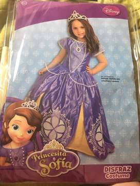 Disfraz princesita sofia talla 3