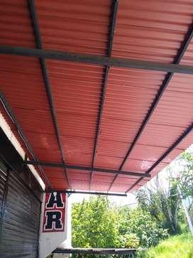 Se vende techo de 10 mts de largo