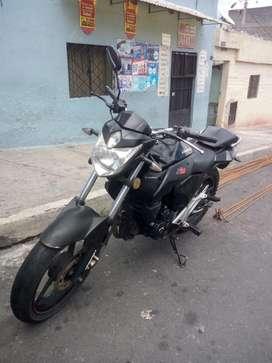 Moto THUNDER 250 cc de oportunidad