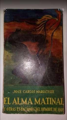 Libro Mariategui Alma Matinal Politica Peru Marxismo