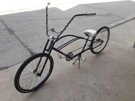Bicicleta chopera r.26
