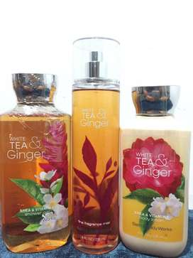 Bath and body works White tea & ginger