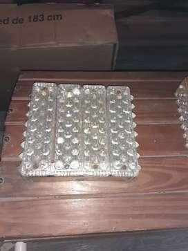 Vendo faros d vidrio antiguos