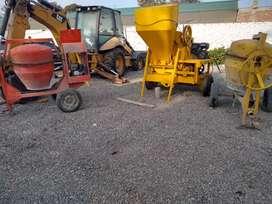 Alquiler de trompo y vibradora para cemento
