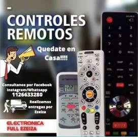 Control remoto para tv, led, smart y aire acondicionado
