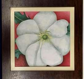 Cuadro Flor blanca, Arte