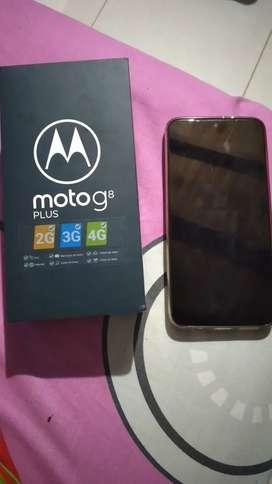 Motog8 plus