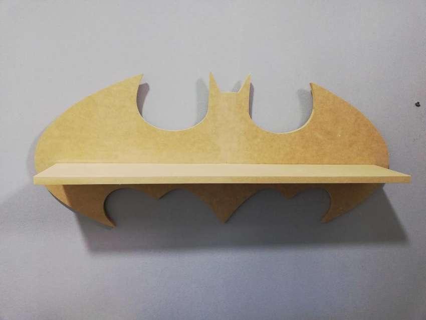 Repisa Madera Batman Mdf Proyectos Caja 0
