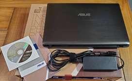 Vendo Notebook Asus K53sj - I5 - 8gb - Disco solido 256 Gb - Gforce Gt 520m