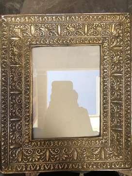 Marco de plaque p retrato o pintura Antiguo.Bien conservado