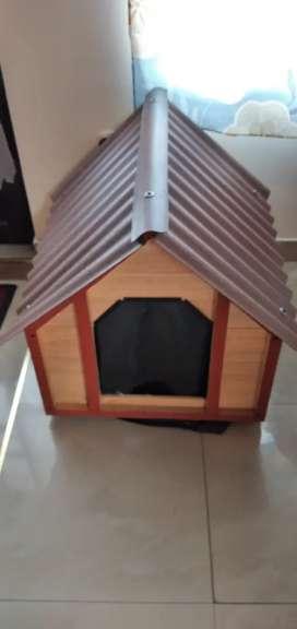 Casa perrito mediano nueva