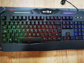 ⌨️COMBO TECLADO️ Y MOUSE WEIBO WB-520