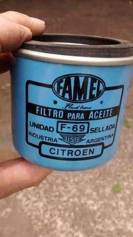 Filtro de aceite motor Citroen.