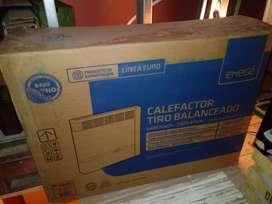 Calefactor Emege 2155tb. Tiro Balanceado 5400 kcal. NUEVO SIN USO