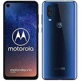 Motorola Moto One Vision y Action 128 gb 4 ram 4G Funda Libres Gtia