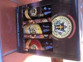 Botellitas de colección. Cerveza artesanal Viejo Múnich. Villa Gral.Belgrano