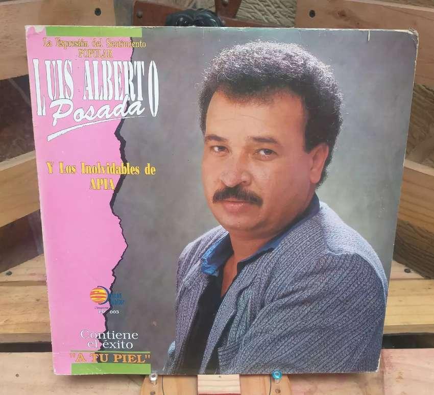 Vinilo Long Play Lp Dísco Acetato Pasta Vinyl Luis Alberto Posada