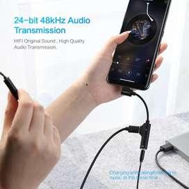 Adaptador Tipo C a Audio Y Carga
