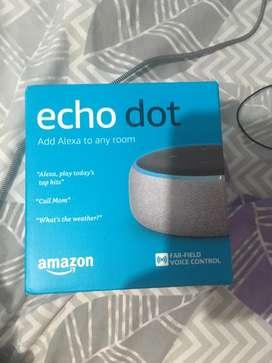 Echo dot 3generacion parlante de amazon