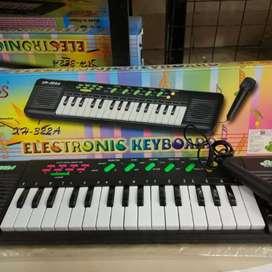 Organo piano teclado de juguete con microfono regalo navidad