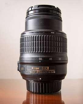 Lente Camara Nikon / Nikkor 18-55mm Reflex