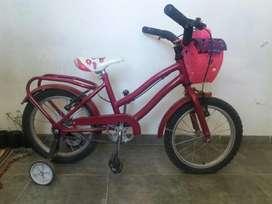 Vendo Bicicleta R 16