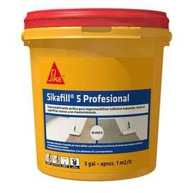 Sikafill-5 Profecional (Gris) diferentes capacidades
