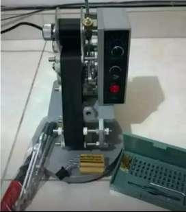 Codificador-fechadora-loteadora Automático + Pedal