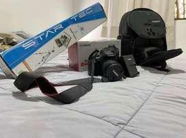 Camara profesional Canon EOS T6