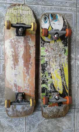 Vendo 2 skates
