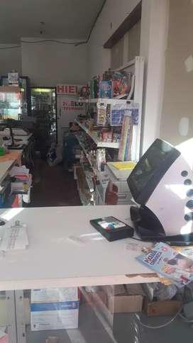 Vendo o permuto fondo de negocio quiniela, almacen , fiambres fotocopias, artículos de librería cargas virtuales