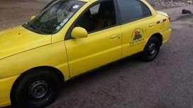 Se vende taxi con líneas