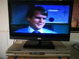 Tv Aoc 20 Pulgadas Y Dvd Samsung