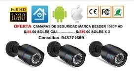 CAMARA BESDER 1080P FULL HD