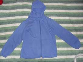 Buzo Azul Unisex, Talle 14