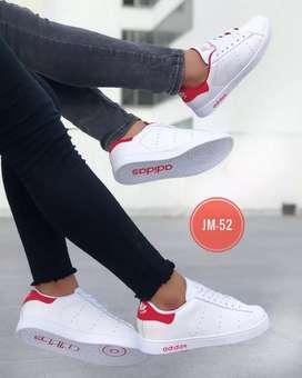 Zapato Tennis Deportivo Adidas Cosido Unisex