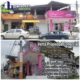 Venta de Casa Rentera en Guayaquil Urbanor avenida las Aguas