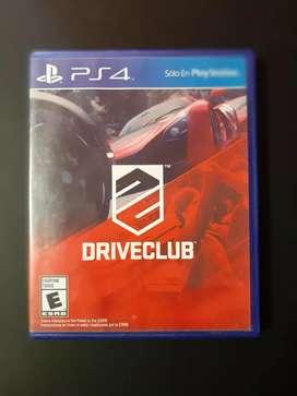 Driveclub juego de auto ps4