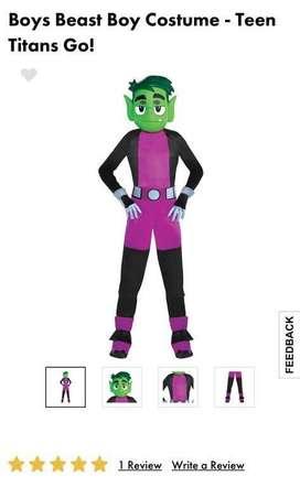 Disfraz Chico Bestia Teen Titans