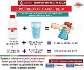 ALCOHOL AL POR MAYOR